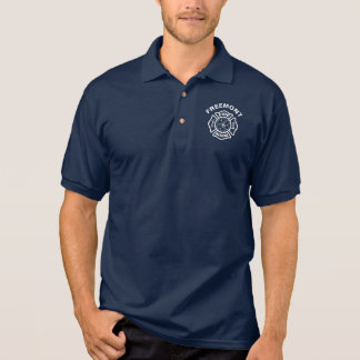 Fire and Rescue White Polo Shirt