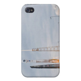Fire and smoke signal the liftoff iPhone 4 case