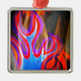 Fire and Sun Collection Metal Ornament
