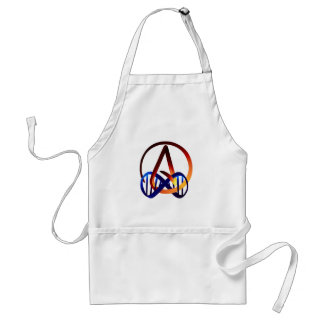 Fire and Water Atheist Forever Adult Apron
