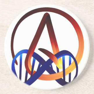 Fire and Water Atheist Forever Coaster