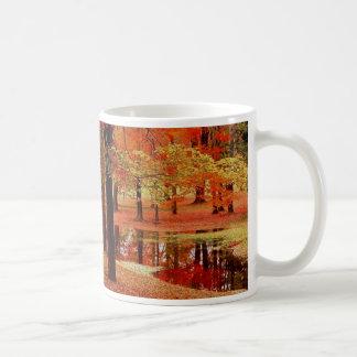 Fire and water coffee mugs