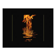 fire and water invitation