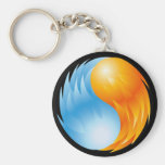 FIRE AND WATER KEYCHAIN