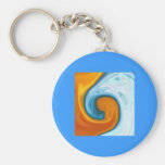 fire and water keychains