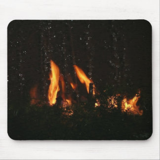 Fire and Water Mouse Pad
