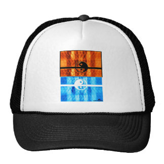 fire and water trucker hat