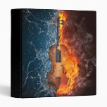 Fire and Water Violin Binder