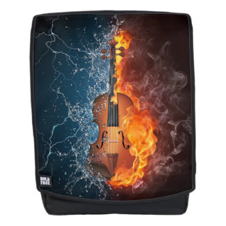 Fire and Water Violin Boldface Backpack