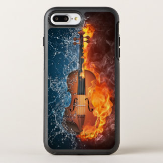 Fire and Water Violin OtterBox Symmetry iPhone 8 Plus/7 Plus Case