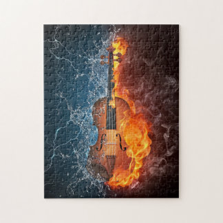Fire and Water Violin Puzzle