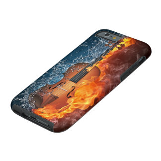 Fire and Water Violin Tough iPhone 6 Case