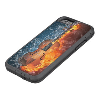 Fire and Water Violin Tough Xtreme iPhone 6 Case