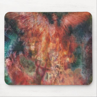 Fire Angel Mouse Pad
