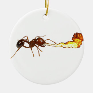 Fire Ant Ceramic Ornament