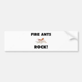 Fire Ants Rock Bumper Stickers