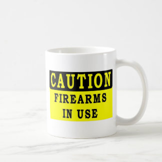 FIRE ARMS IN USE MUGS