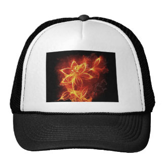 fire_art_12jpg fire flames digital trucker hat