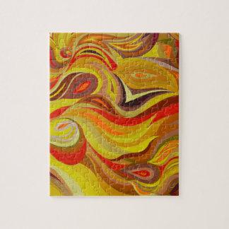 Fire art jigsaw puzzle