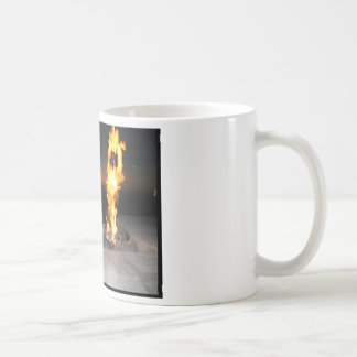 Fire at a restauant near the beach in San Diego Coffee Mug