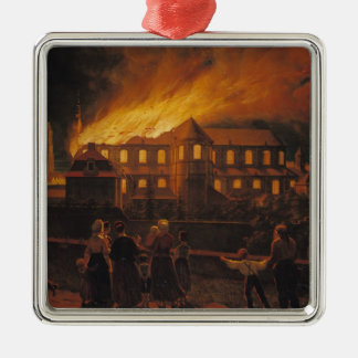 Fire at Cambrai Cathedral, 9th September 1859 Metal Ornament