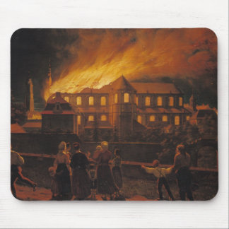 Fire at Cambrai Cathedral, 9th September 1859 Mouse Pad