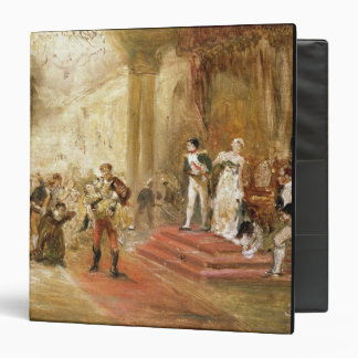 Fire at the Austrian Embassy (oil on canvas) Binder