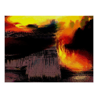 Fire at the gate poster