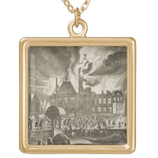 Fire at the old Amsterdam Town Hall, 17th July 165 Jewelry