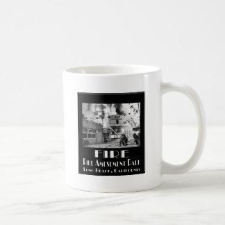 Fire At The Pike Coffee Mug