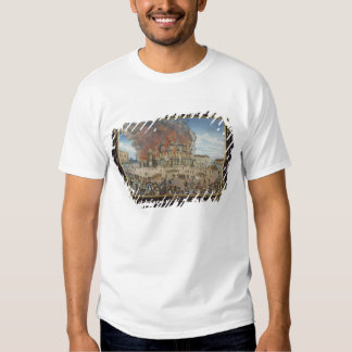 Fire at the Royal Theatre in Dresden Shirt