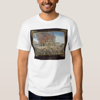 Fire at the Royal Theatre in Dresden Tee Shirt