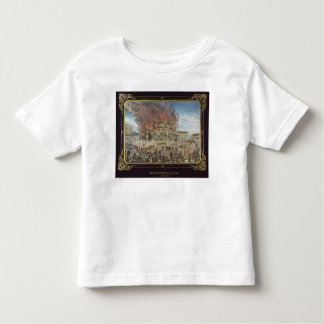 Fire at the Royal Theatre in Dresden Toddler T-shirt
