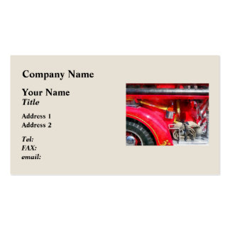 Fire Axe and Hose Business Cards