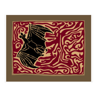 Fire Bat Postcard