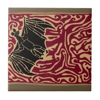 Fire Bat Tile