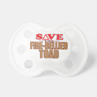 Fire-Bellied Toad Save Pacifier