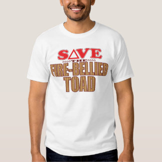 Fire-Bellied Toad Save T-shirt