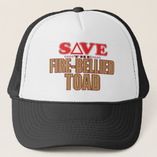 Fire-Bellied Toad Save Trucker Hat