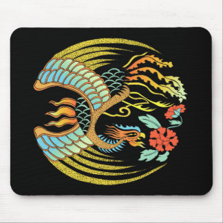 Fire Bird Mouse Pad