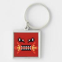Fire Bite Blockhead Keychain!