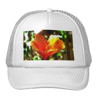 Fire Blossom Trucker Hat
