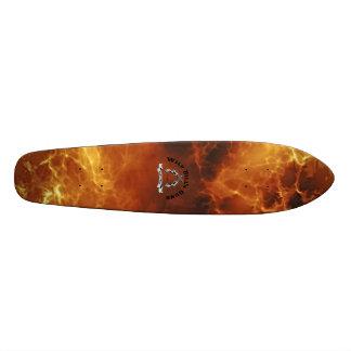 Fire Board  Wild Bill's Guns Skateboard