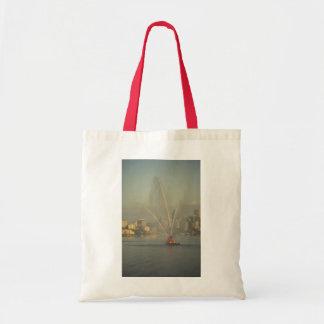Fire boat, Sydney Harbor, Australia Tote Bags
