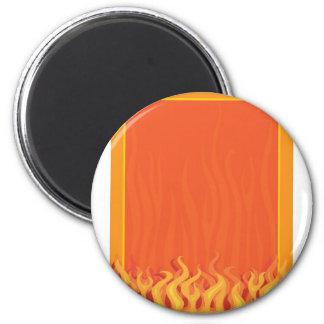 Fire Border Magnet
