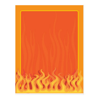 Fire Border Postcard