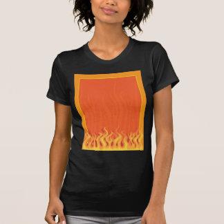 Fire Border Tee Shirt