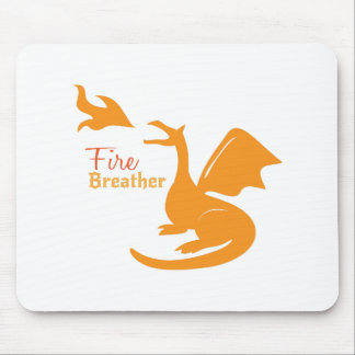 Fire Breather Mousepad