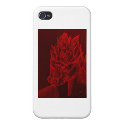 Fire Breather-R iPhone 4/4S Case