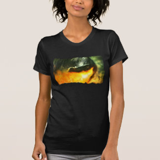 Fire-Breathing Dinosaur or Dragon by Michael Maher Tee Shirt
